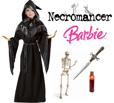 necromancer barbie