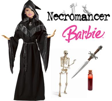 necromancer barbie