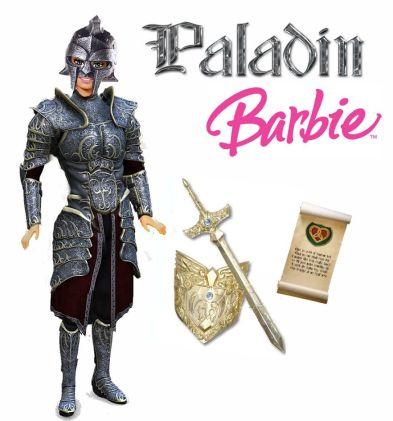 paladin barbie