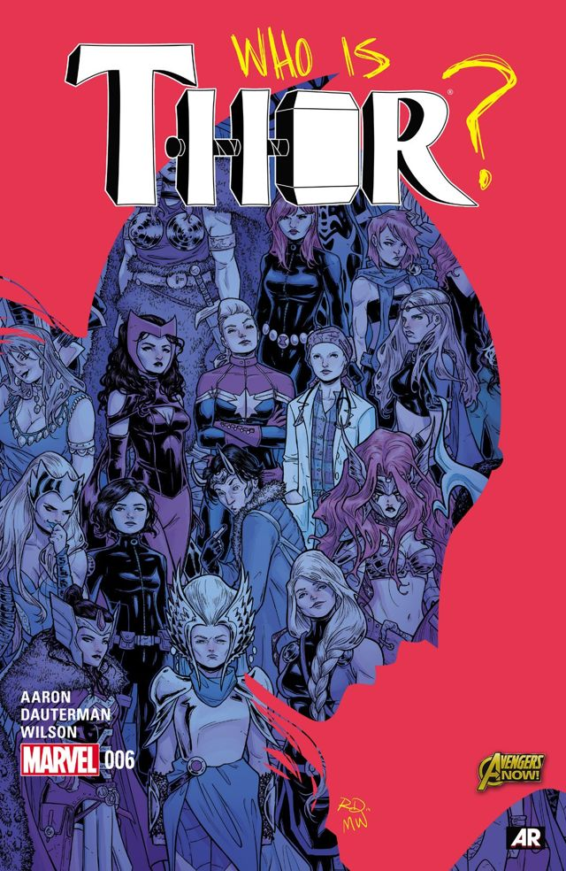 comic review thor 6 who holds the hammer nerdy but flirty
