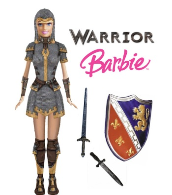 warrior barbie
