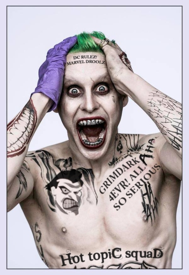 Joker in some new tats