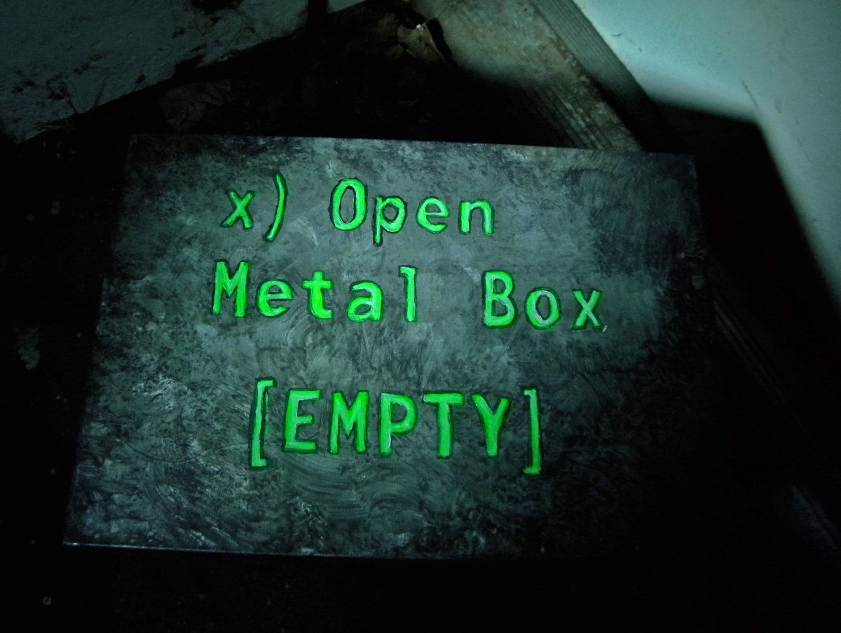 Make Your Own Metal Box Empty From Fallout Nerdy But