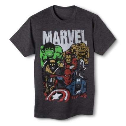 Men's Marvel Avengers T-Shirt, Target $10.00+