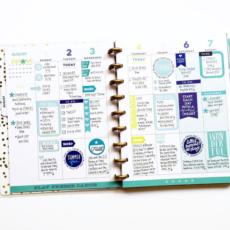 Erin Condren Planner vs  Happy Planner | Nerdy But Flirty